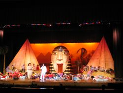 """Joseph and the Amazing Technicolor Dream coat"