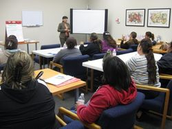 Financial Literacy Classes given by Wells Fargo