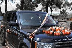 Range Rover for bridal car