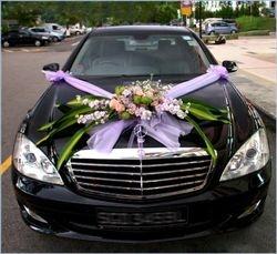 Classic car for wedding