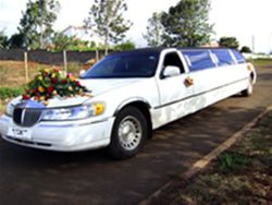 Limousine hire for wedding in Kenya