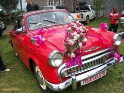 vintage wedding cars in Kenya