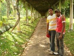 with friend nizmy