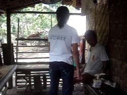 volunteer visits her father