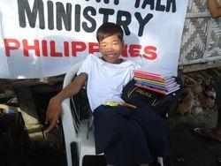 DoDo with school supplies