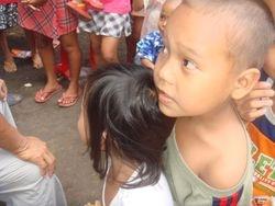 San Antonio village children