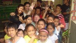 The children at Plaridel school
