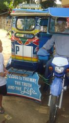 Pastor's motorcab