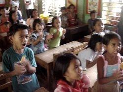 students recite