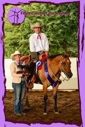 2012 Green Western Pleasure Champion