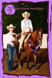 2012 Nov Am Reining Champion