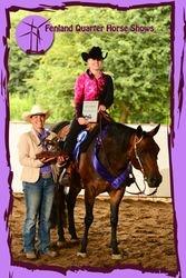2012 Ranch Horse Pleasure Champion