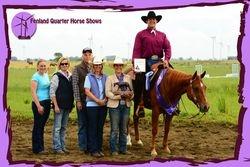 2012 Senior Western Pleasure Champion