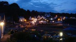 Hazelbeach Regatta at Night