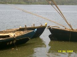 sandboats at rest