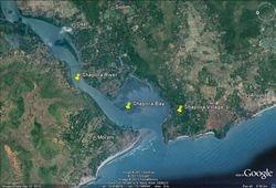 Shapora satelite view