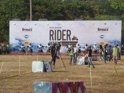 Sunday race - the start