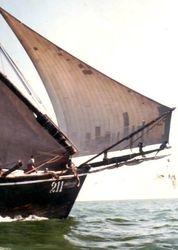 Tuticorin Cargo sailer / India  1987