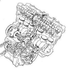 Honda CBX inner life