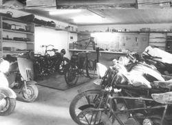 my work shop  1970ies