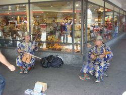 Bern, Street Mucisians