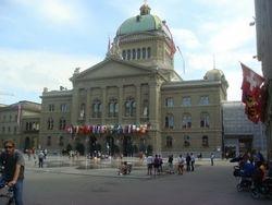 Swiss Parliament, Capital City Bern