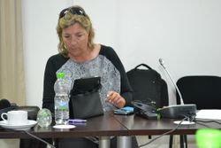 Delegates during the General Assembly on the 16th September in Fes, Morocco