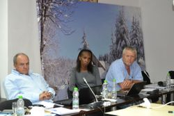 Delegates during the General Assembly meeting in Ifrane, Morocco.