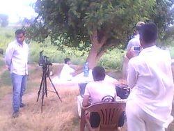 Shooting of video album