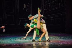 """Broadway Melody"" -The 'Green Girl' Pas De Deux"