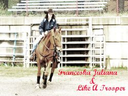 "Franceska Juliana & Like A Trooper ""Trooper"""