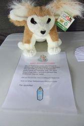 Fennec fox birth announcement