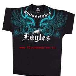 t shirts flock printing
