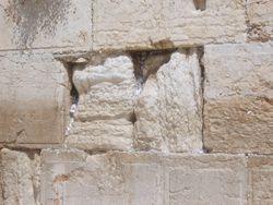 Il muro dei pianti - Gerusalemme