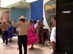 bailando el guapango chorotega