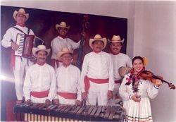 Musicos del Cuadro Nacional de Danza
