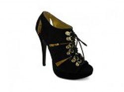 "NEW ""Kelsey"" Black suede shoe - 20 euros"