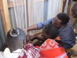 Carpet Weaving Training - Osupuko