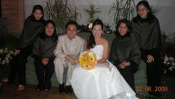 The Team with the Newlyweds