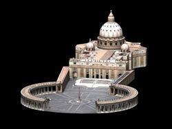 Low Poly - Basilica di San Pietro