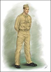 Concept Art - Lt. Bill
