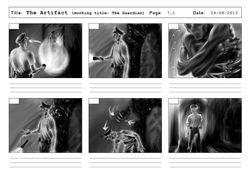 The Artifact - Short Film - Storyboard