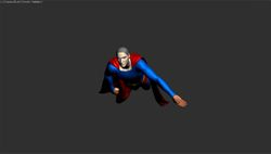 Superman Requiem 3D Raw Model