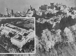 Monte Cassino, before and after