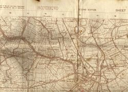 Original map of Bondeno