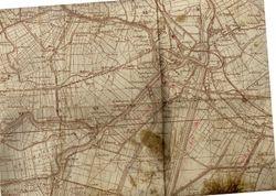 Original map of Bondeno.