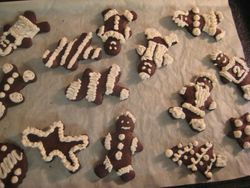 Our Organic Gingerbread Cookies