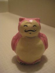Pink Snorlax made for Hope Mar 2015