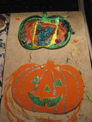 2015 Mommy and Hope Halloween Craft