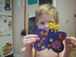 Butterfly Craft Mar 2015